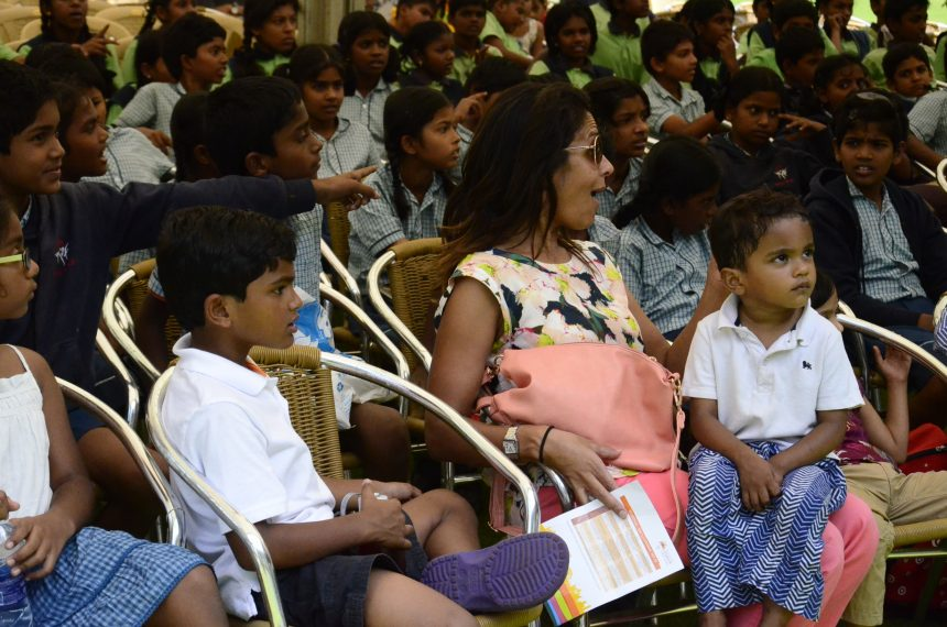 The children were highly engaged, surprising most adults in the audience.