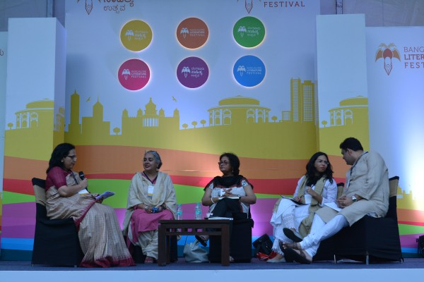 Panelists discuss the degree to which Sita is relevant for modern Indian women