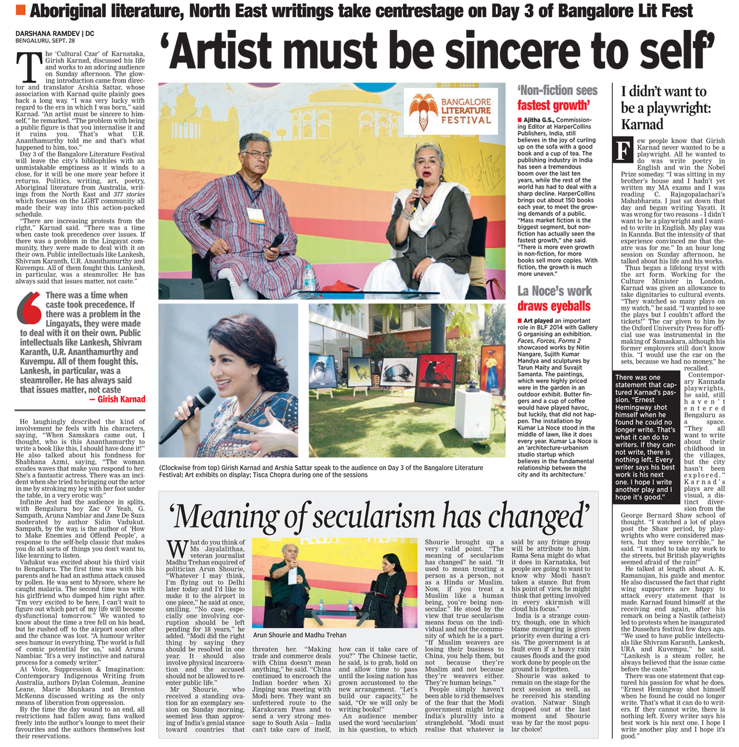 Deccan Chronicle, Page - 02, Date - 29.09.2014