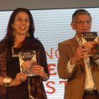 Launching-Shobhaa-De's-Sethji-with-Sunil-Sethi-at-BLF-2012