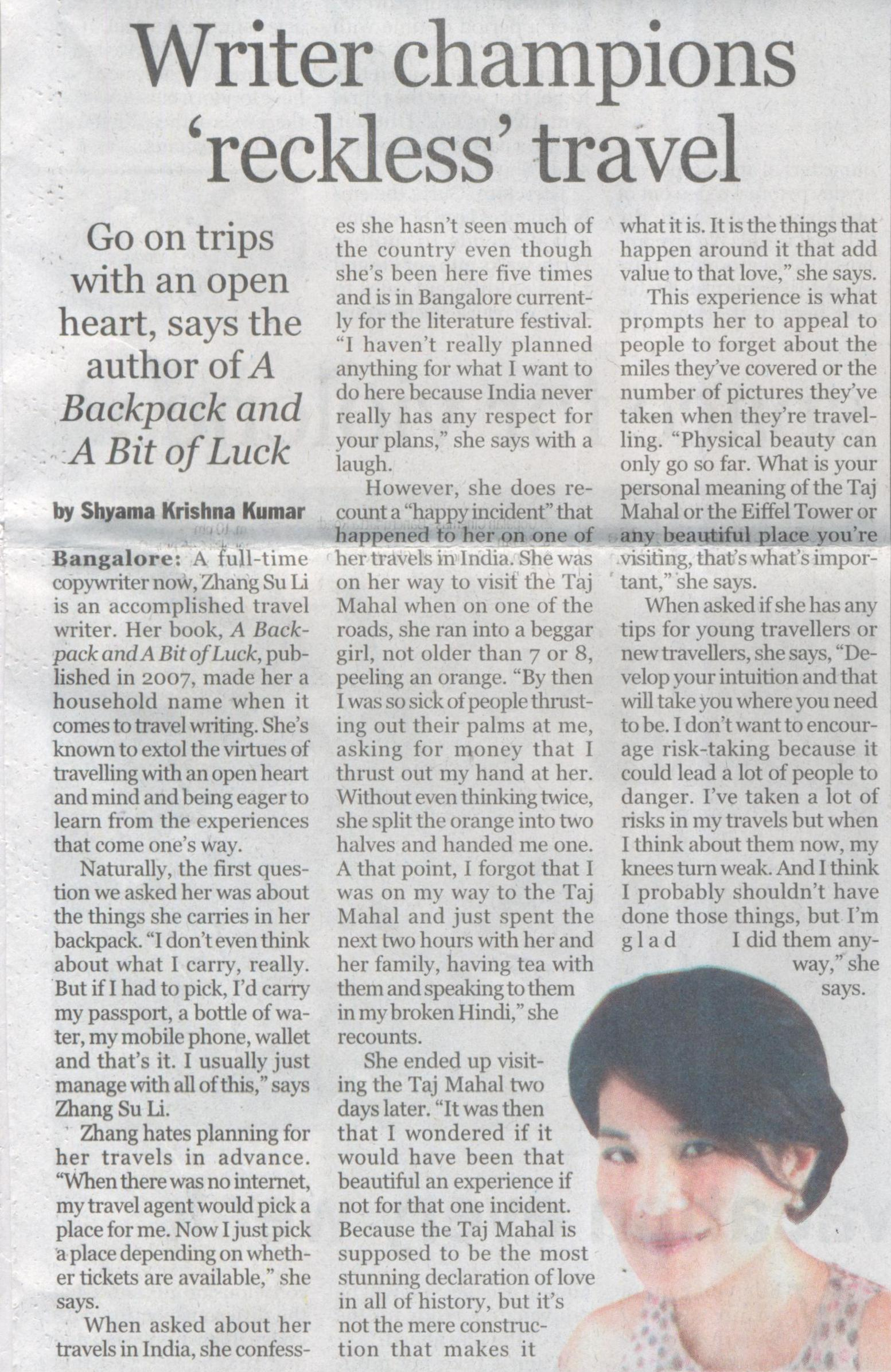 The New Indian Express, Page - 03(City Express), Date - 29.09.2014